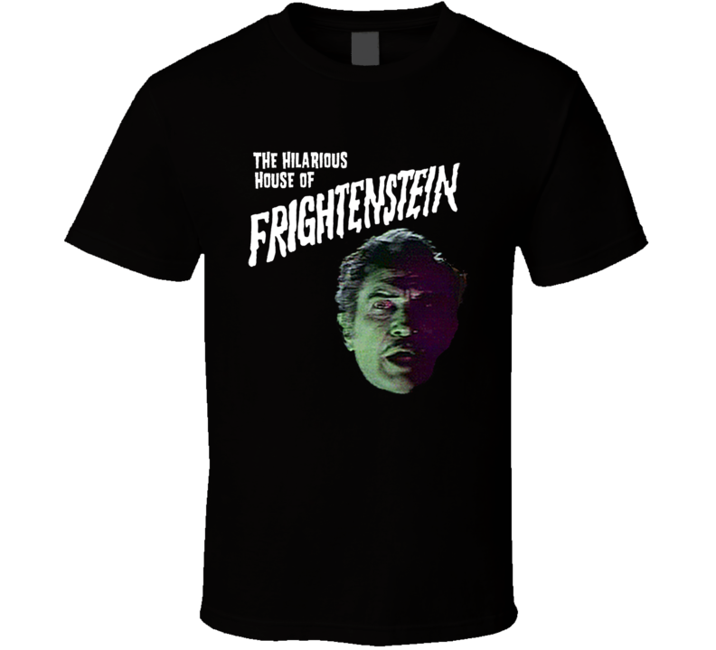 Hilarious House of Frightenstein Vincent Price T Shirt