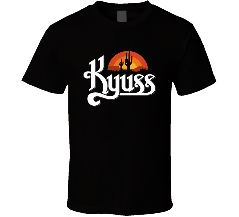 Kyuss Desert Queens of the Stone Age Music T Shirt