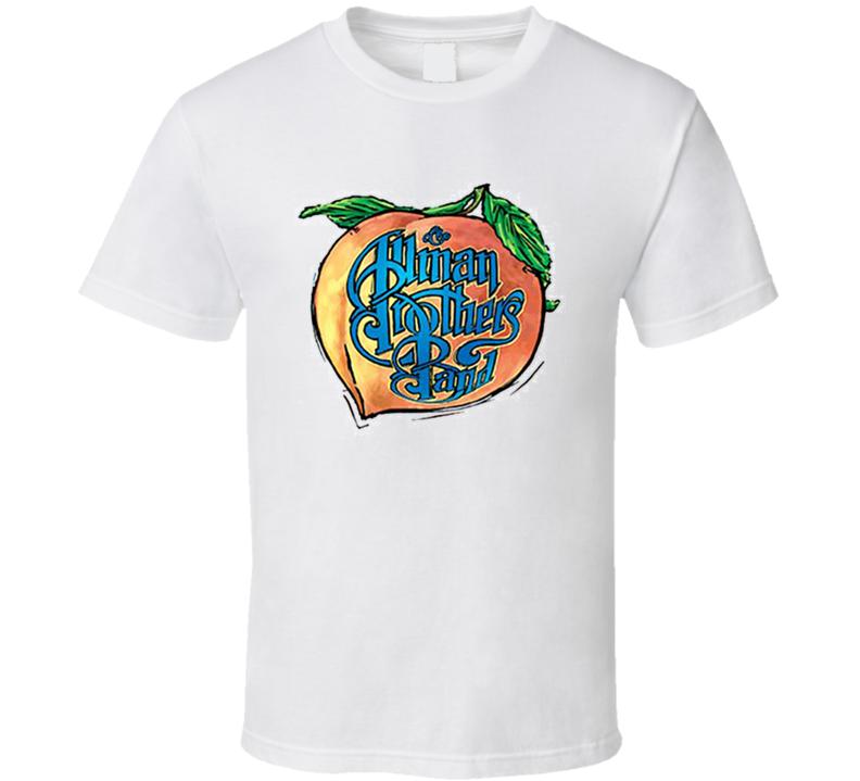 The Allman Brothers Band Peach Music T Shirt
