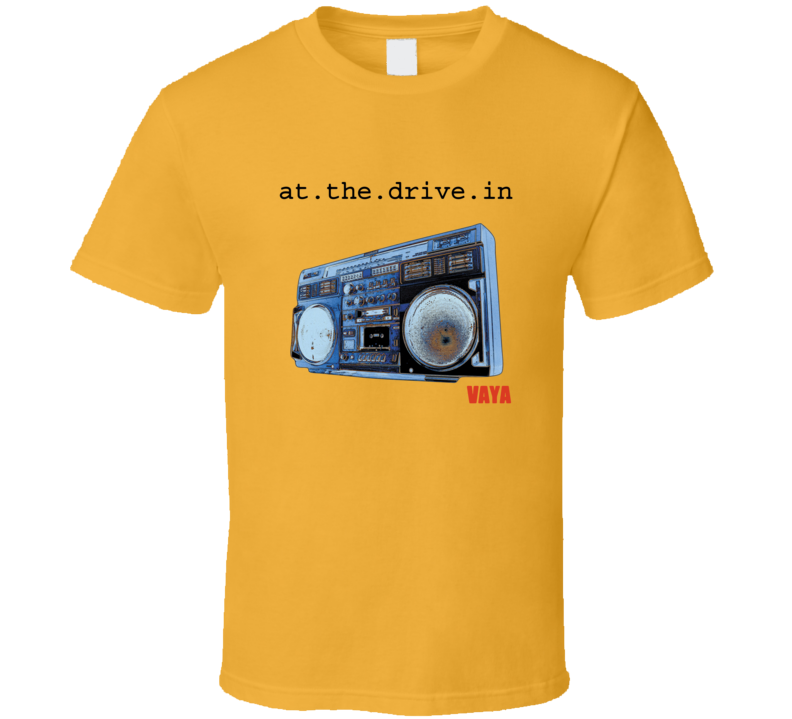 At The Drive In Vaya E.P. Music T Shirt