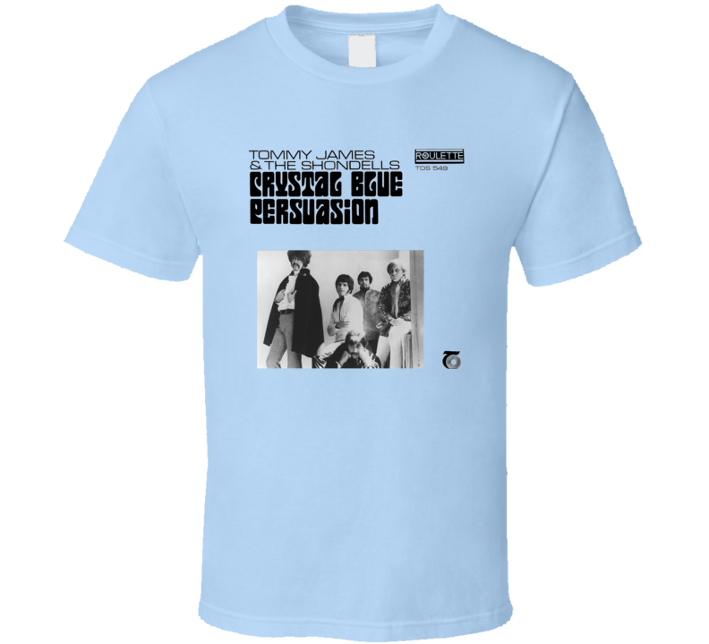 Tommy James & The Shondells Crystal Blue Persuasion Breaking Bad Album Music T Shirt