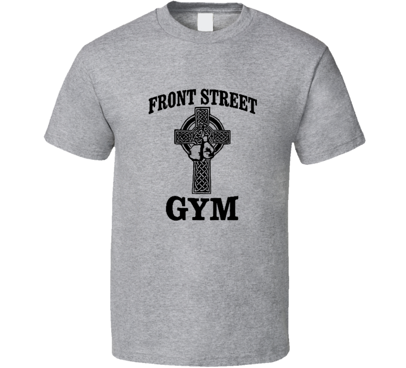 Front Street Gym Boxing Creed Rocky Balboa Movie T Shirt