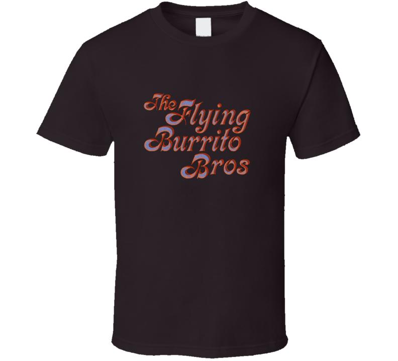 The Flying Burrito Bros Band Gram Parsons Music T Shirt