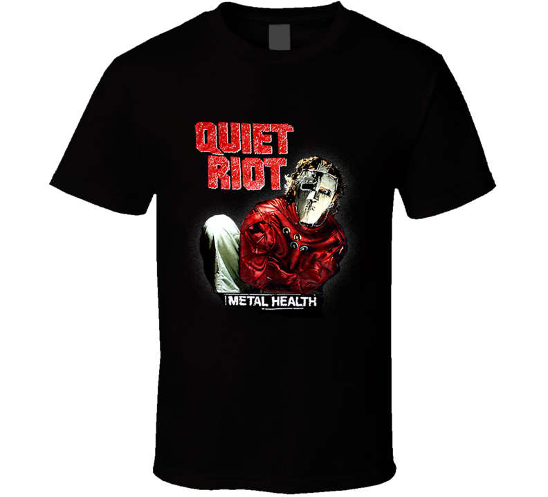 Quiet Riot Metal Health 80's Retro Metal T Shirt