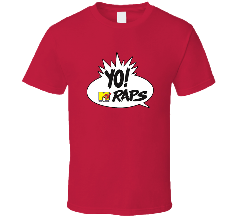MTV Yo! Raps Classic Hip Hop TV T Shirt