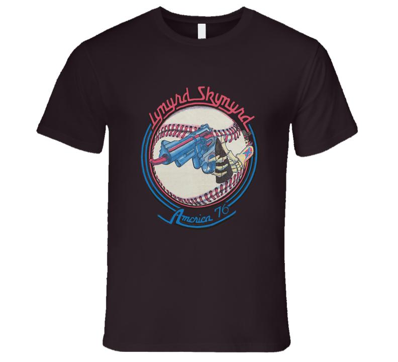 Lynyrd Skynyrd 1976 Tour Classic Retro T Shirt