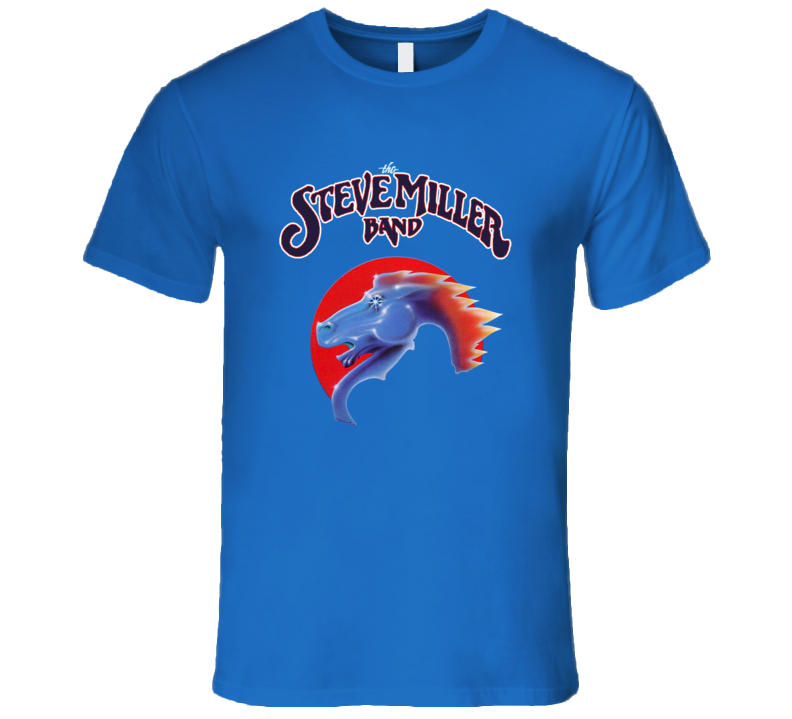 The Steve Miller Band Royal Blue Music T Shirt