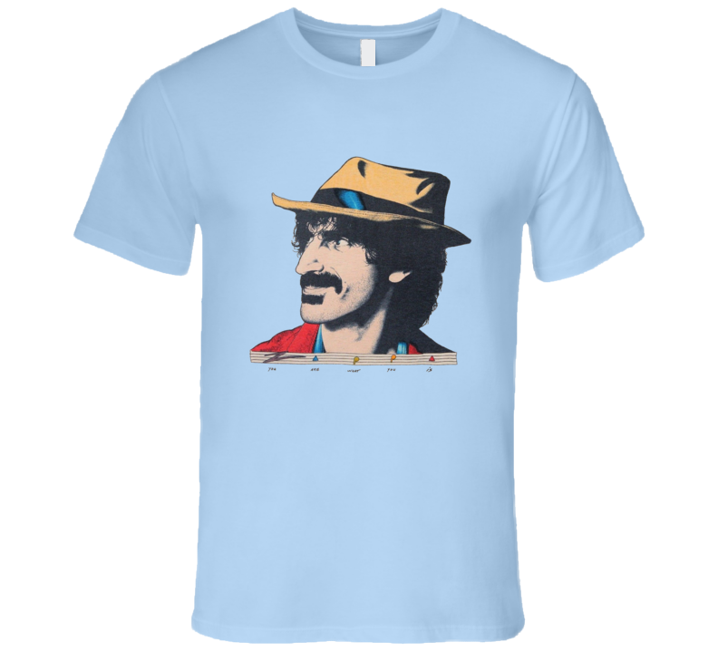 Frank Zappa You Are What You Is Retro Tour Music T Shirt
