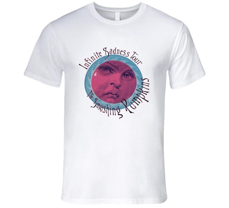 The Smashing Pumpkins Infinite Sadness Tour Retro Grunge 90's Music T Shirt