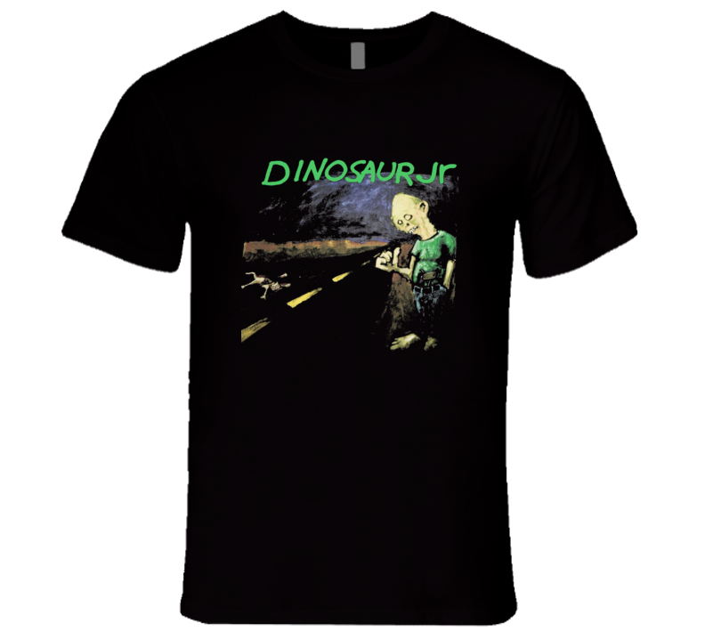 Dinosaur Jr Retro 90's Alternative Music Tour T Shirt