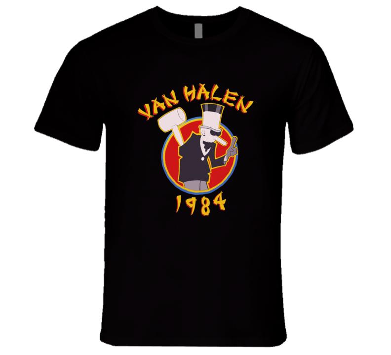 Van Halen 1984 Eddie Van Halen Tour Retro Classic T Shirt