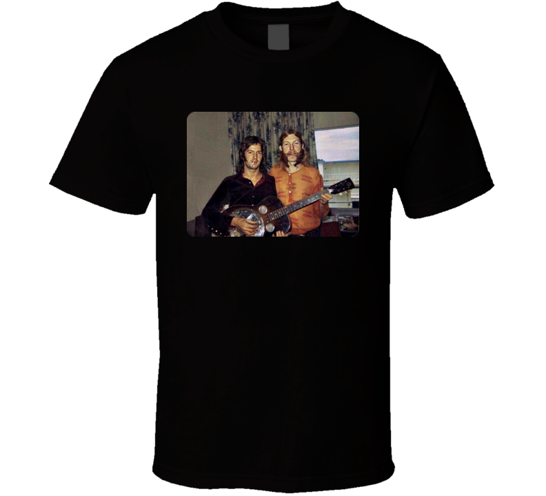 Eric Clapton Duane Allman Derek and the Dominos Layla Classic Retro Rock Music T Shirt