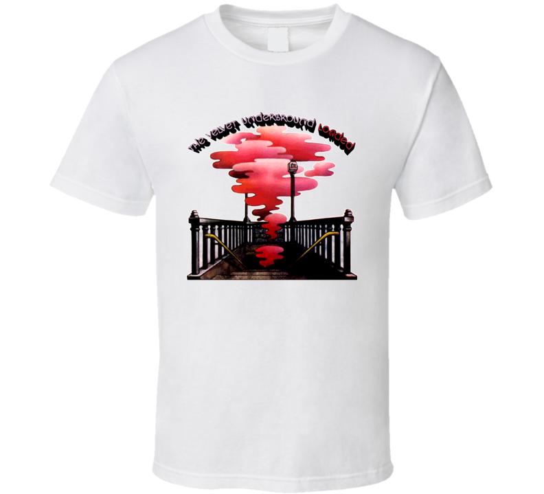 Velvet Underground Loaded Album 70s T Shirt
