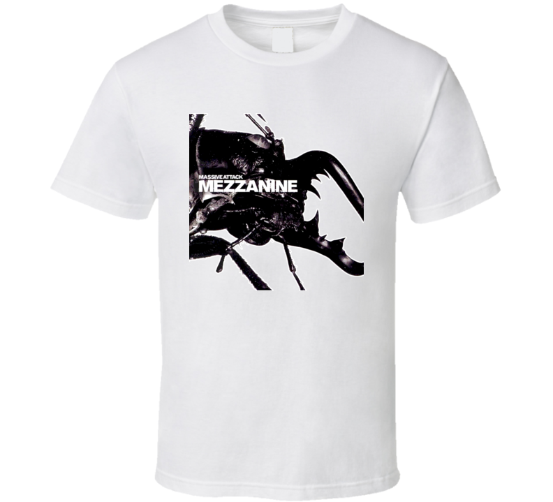 Mezzanine Massive Attack Album T Shirt