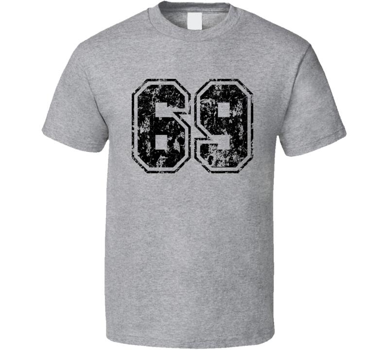 Retro 69 Sex Funny T Shirt