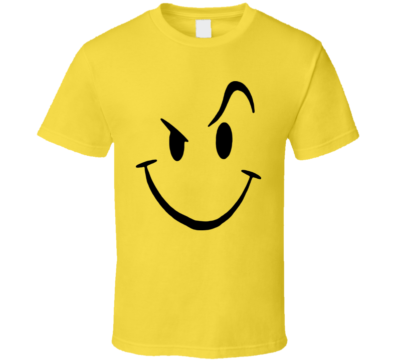 Naughty 420 Face Funny T Shirt