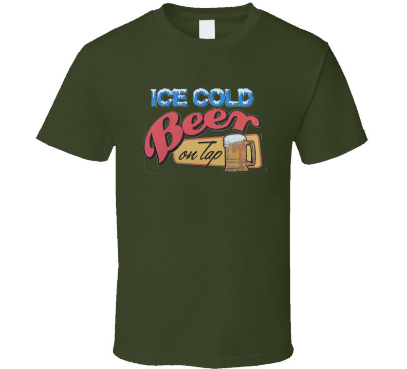 Ice Cold Beer T Shirt