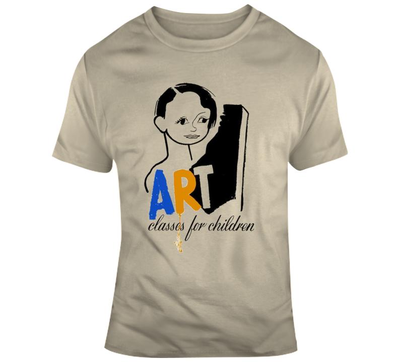 Art Classes For Children T Shirt