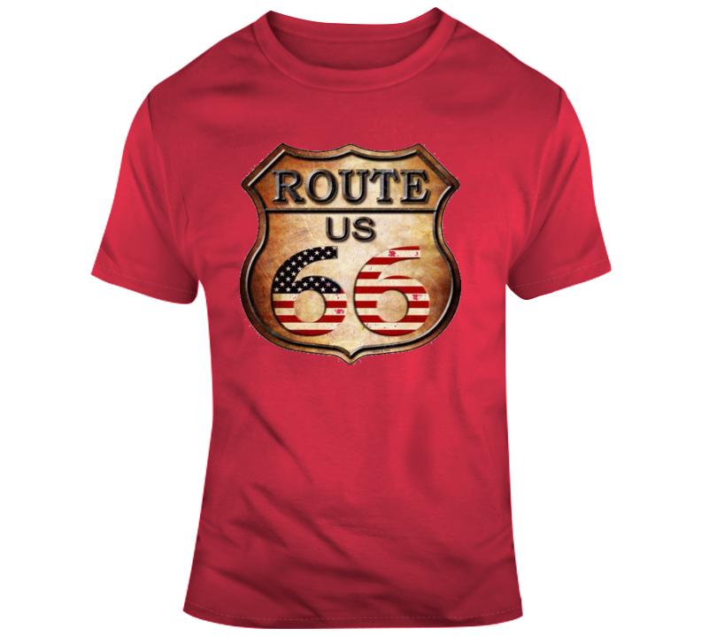 Route 66 Retro T Shirt