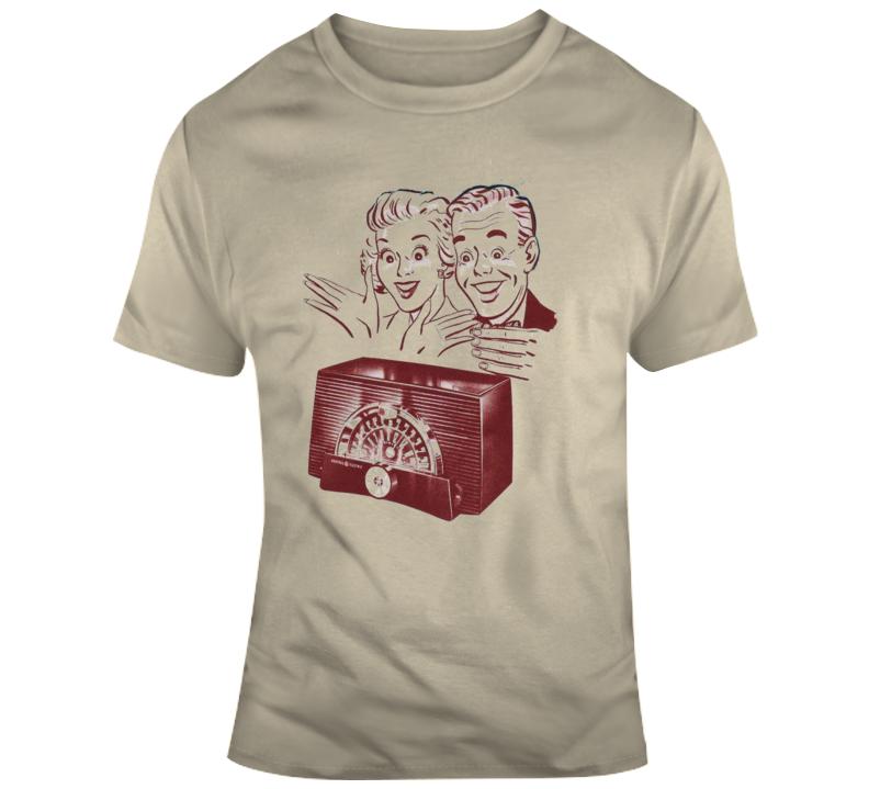 Retro Radio Retro T Shirt
