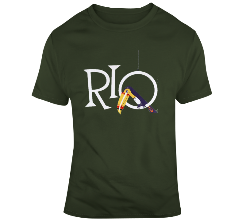 Rio Retro T Shirt