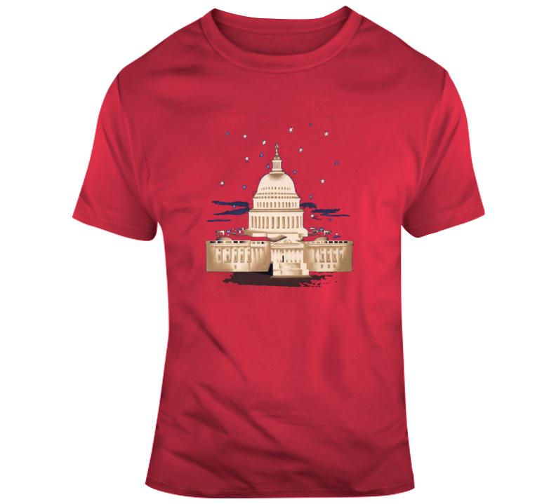 Washington D C Retro T Shirt