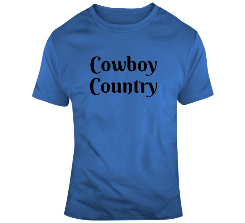 Cowboy Country T Shirt