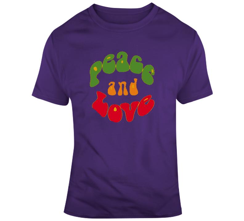 Peace & Love T Shirt