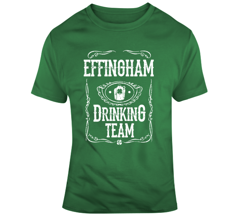 Effingham Drinking Team T Shirt