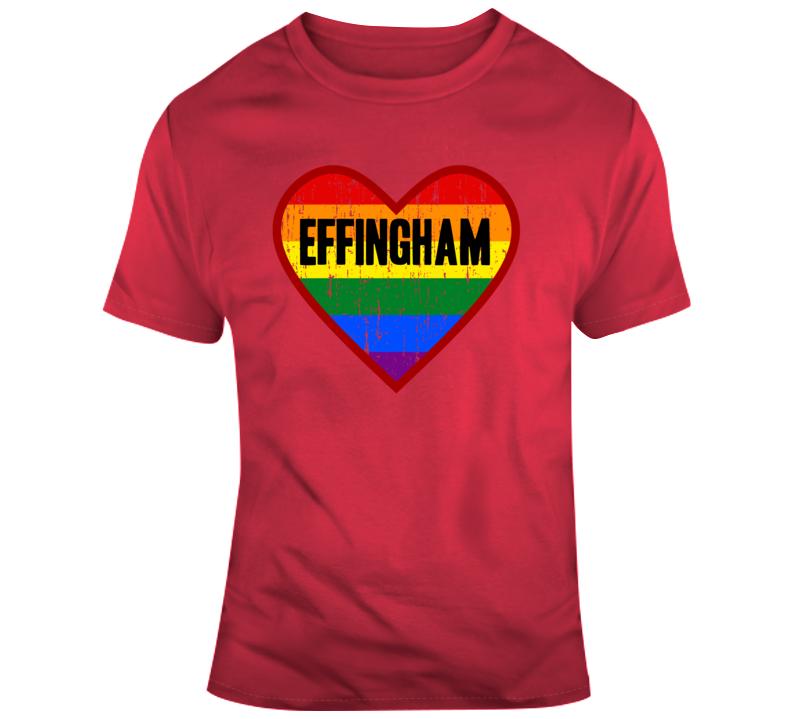 Effingham Hearts T Shirt