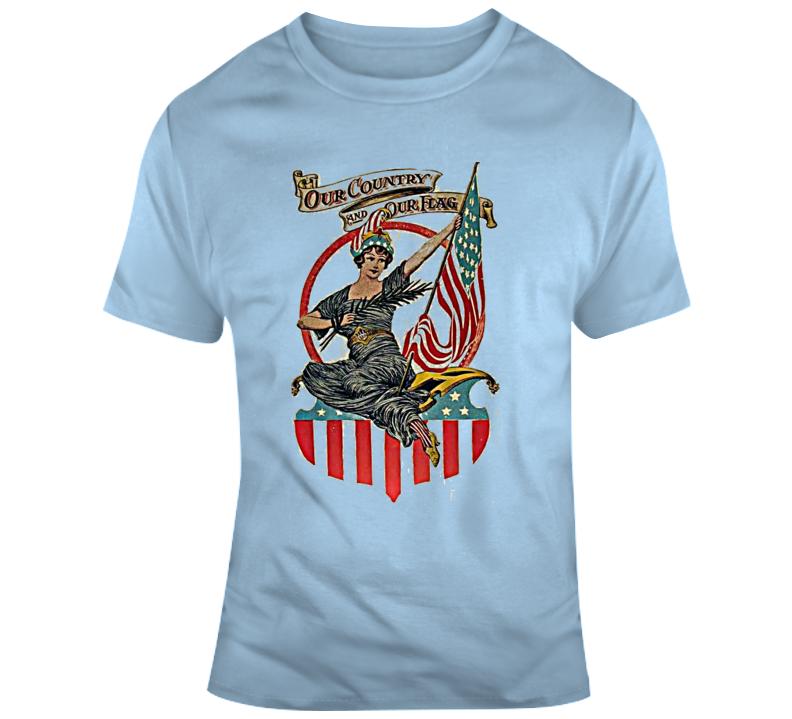 Retro U S A T Shirt