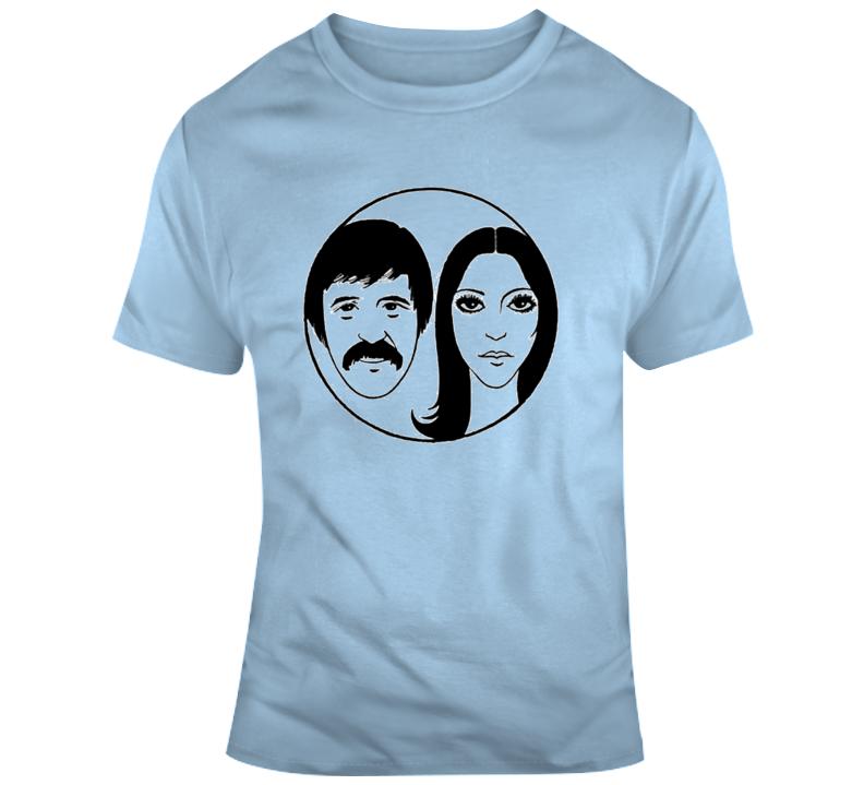 Sonny & Cher T Shirt