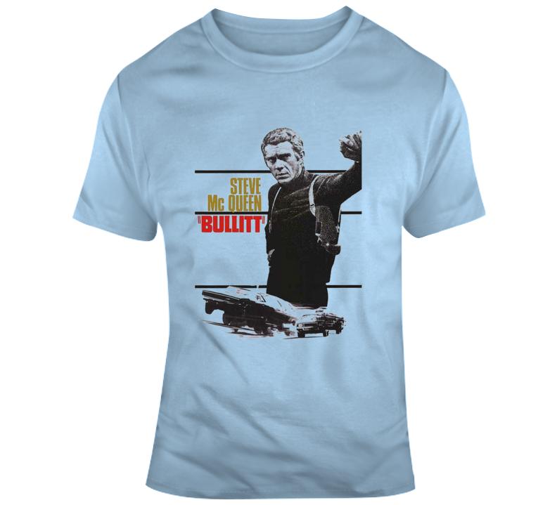 Steve Mcqueen - Bullitt T Shirt