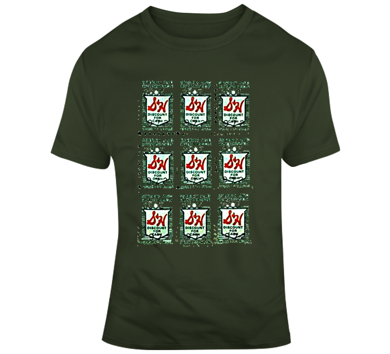 S & H Green Stamps T Shirt