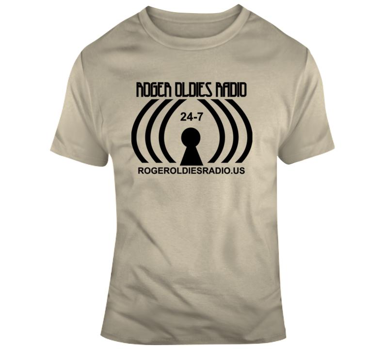Roger Oldies Radio T Shirt