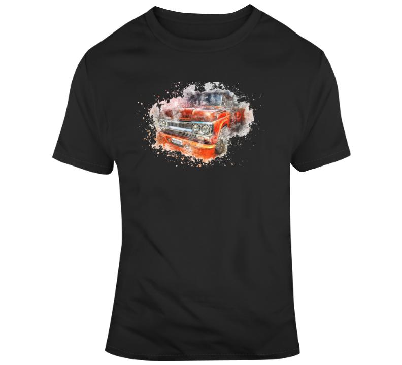 Retro Truck T Shirt