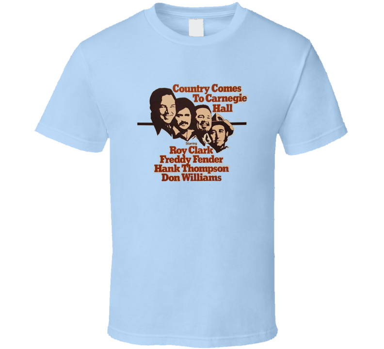 Country Comes To Carnegie T Shirt