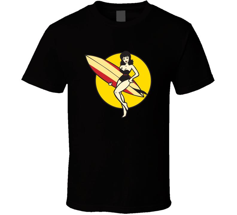 Surfer Girl T Shirt