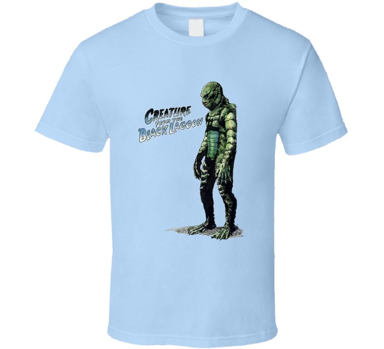 Creature Of The Black Lagoon T Shirt