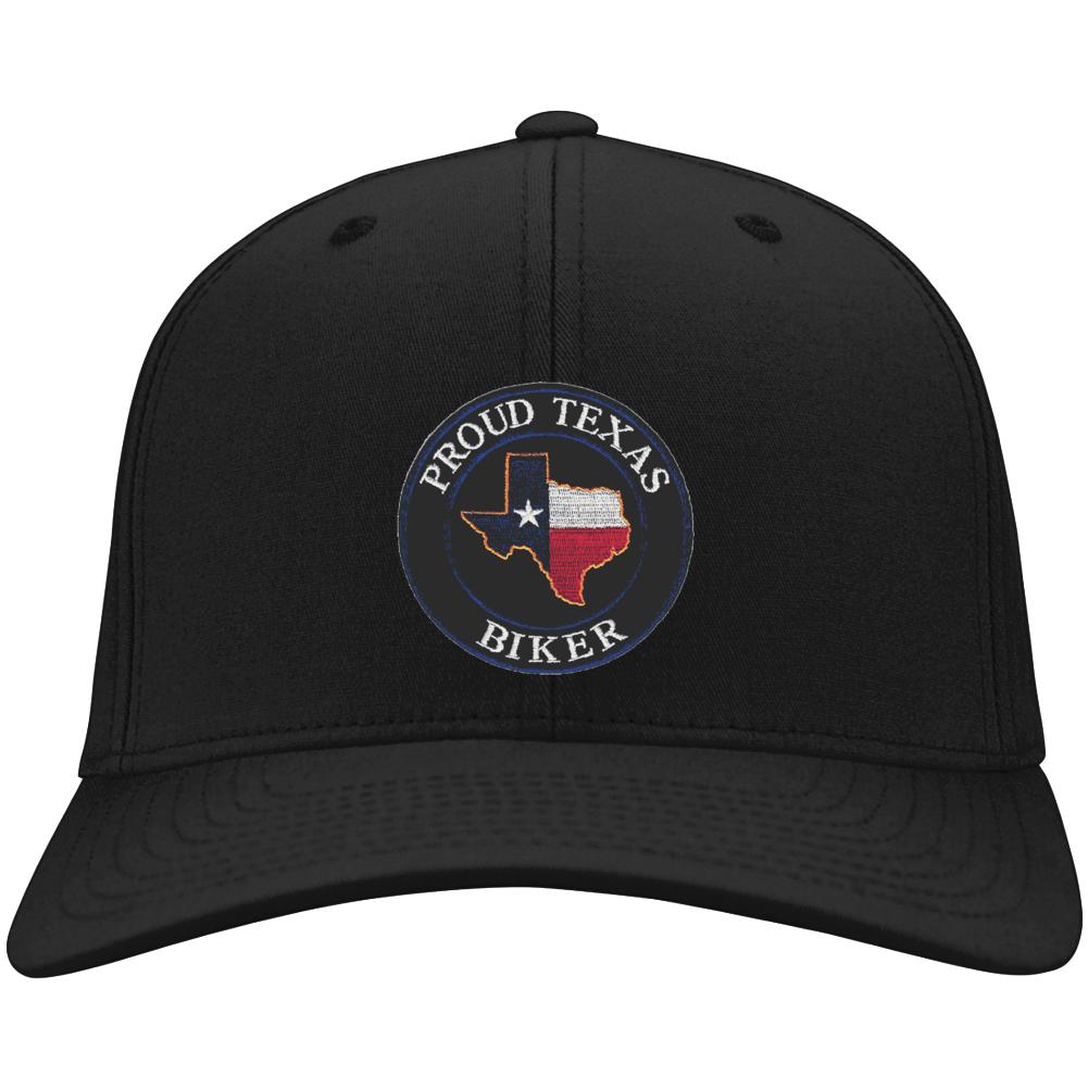 Proud Texas Biker Hat