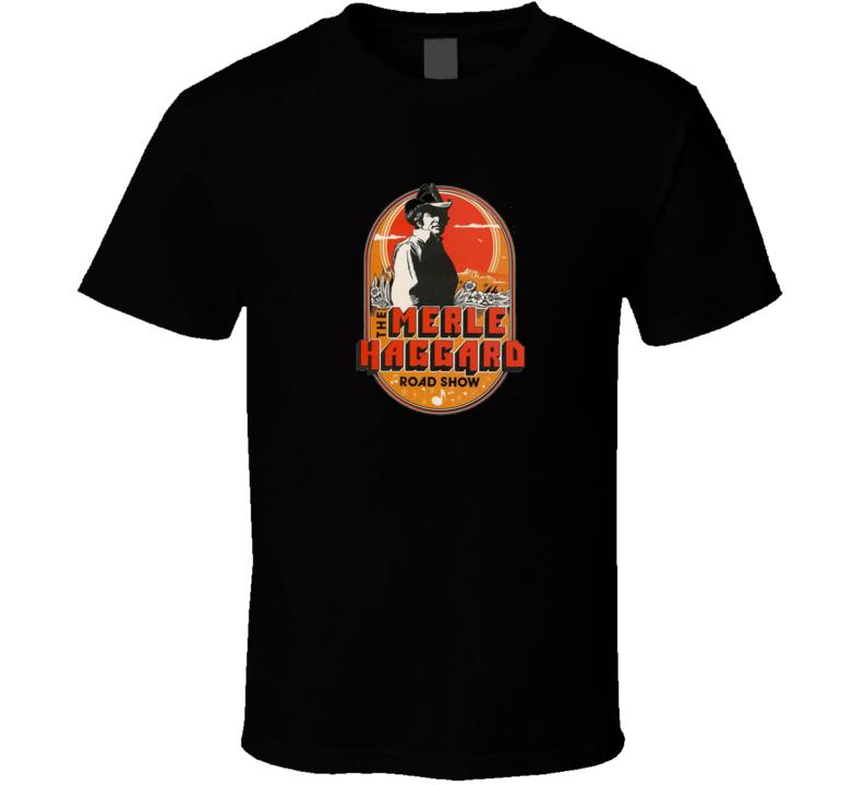 Merle Haggard Road Show T Shirt