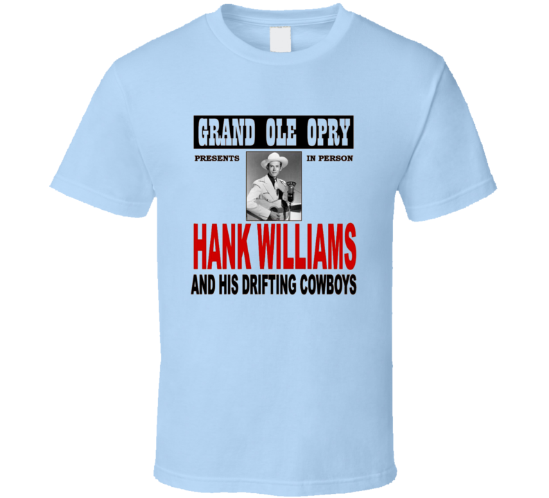 Hank Williams T Shirt