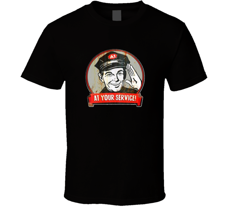 At Your Service T Shirt