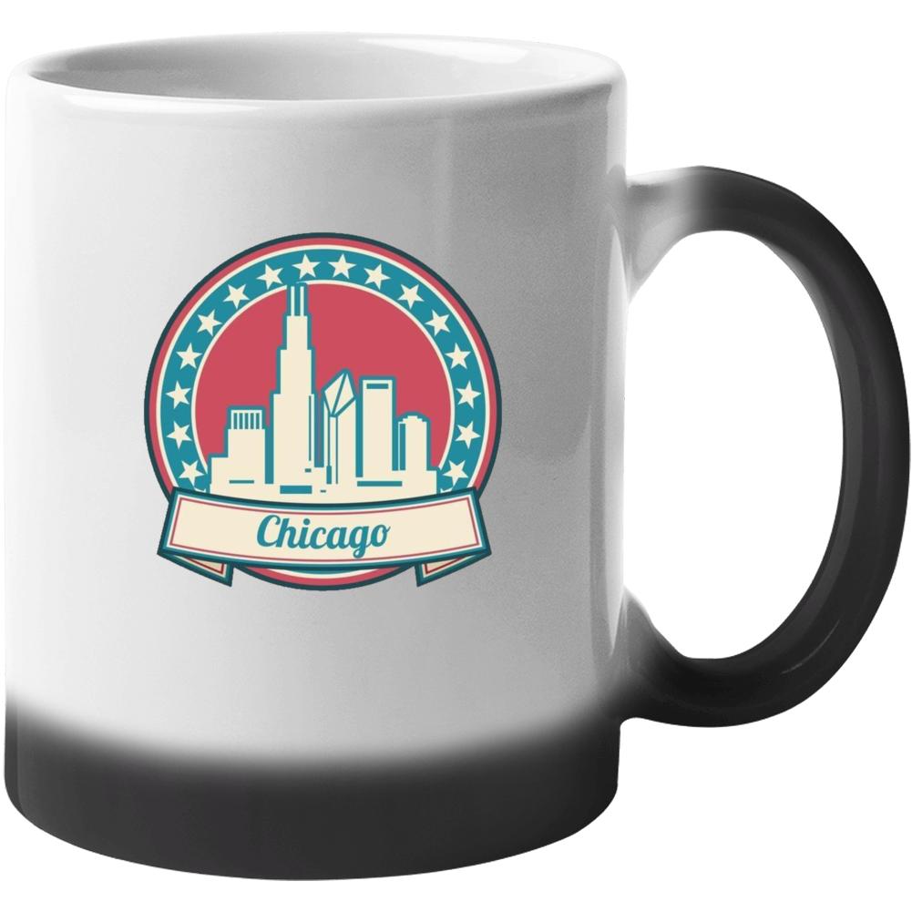 Retro Chicago Mug