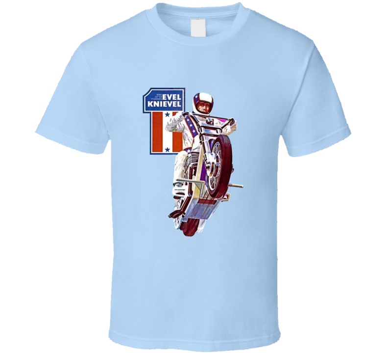 Evel Knievel T Shirt