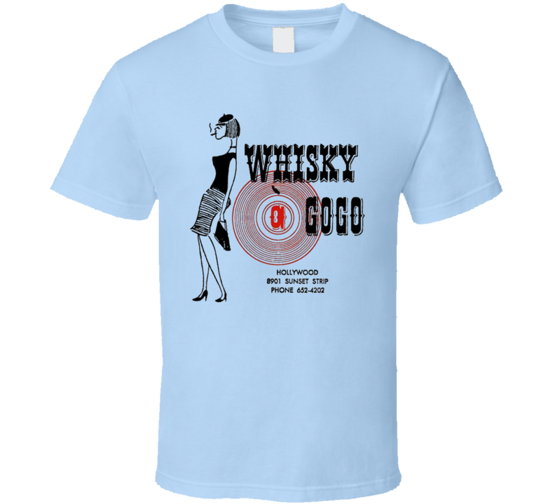 Whiskey A Gogo T Shirt