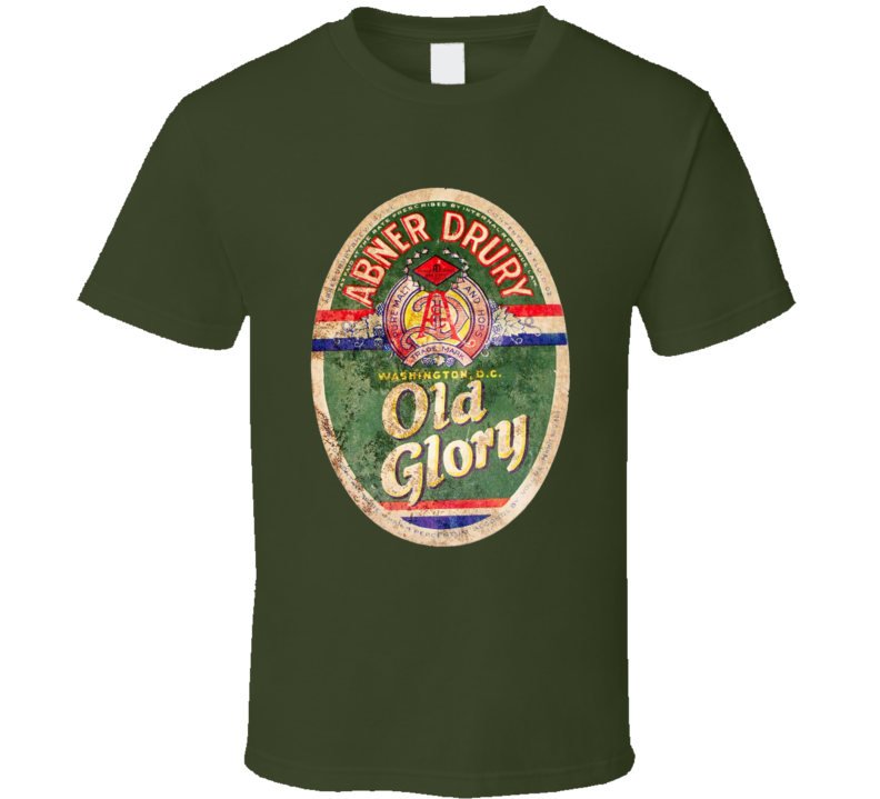 Old Glory Beer T Shirt