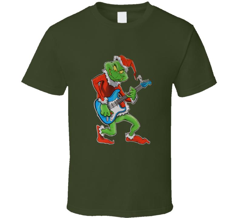 Rocking Grinch T Shirt
