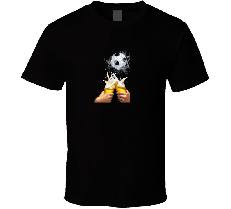 Soccer & Beer T Shirt