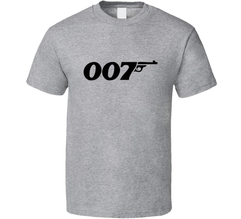 James Bond 007 T Shirt